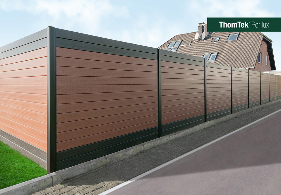Thomtek Perilux The New Sound Insulation And Privacy Fence System