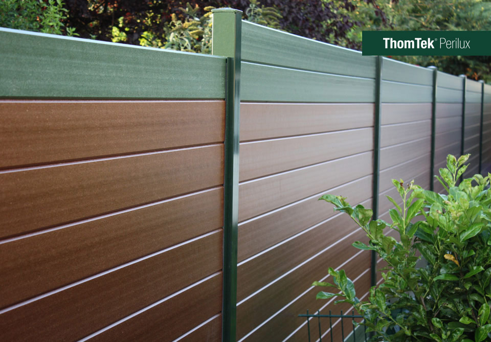 Gut ThomTek® Perilux – The new sound insulation and privacy fence system HB73